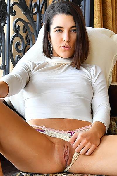 Fantastic FTV Model Miki gets naked for you in Not So Innocent