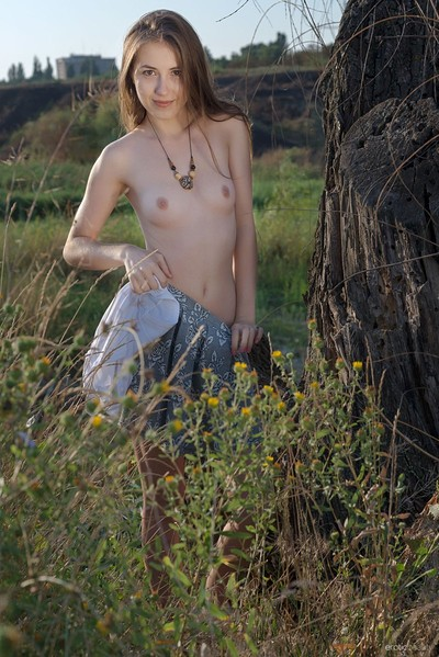 Hrizantema in In The Meadow from Erotic Beauty