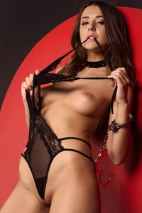 Sybil A knows that you would like to touch every inch of her sexy and hot body