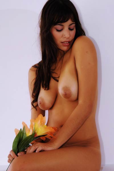 The look in Lola Fs eyes and her hot body are just calling for some sex action