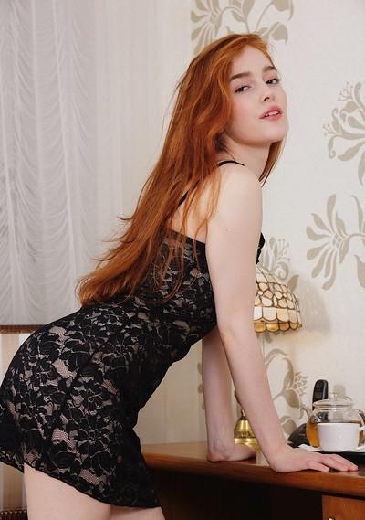 Jia Lissa in Fiery Beauty from Showy Beauty