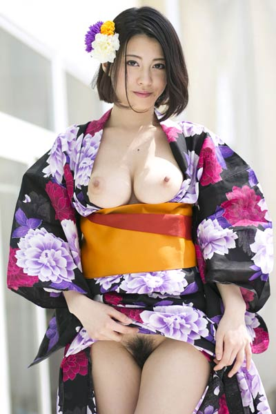 All natural All Gravure Beauty Matsuoka Chi Na charming in Flower Girl