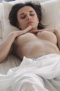 You better hurry up and come into bedroom of well curved brunette where she is waiting you naked