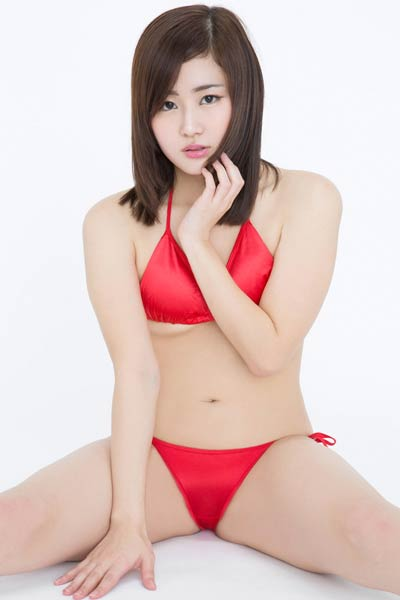 Adventurous and daring babe Babe Adone Kudo shows her attractive young body in Pout And Kiss 2