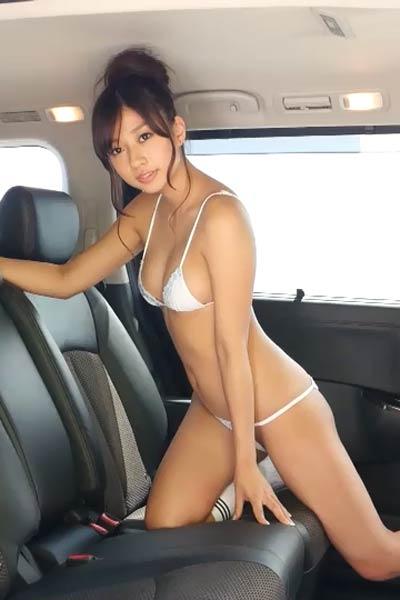 Cute doll Allgravure Girl Sayaka Onuki shows off her gorgeous body in Maiden Love Scene 1