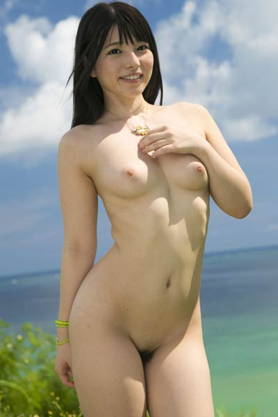 Perfectly Shaped Allgravure Model Ai Uehara nude in Just You And I 1