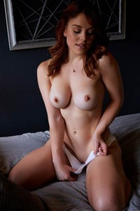 Molly Stewart is not feeling shy to show off her amazing body