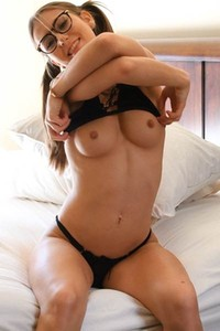 Graceful vixen Paige bares her smoking hot body in Shes Extra Kinky