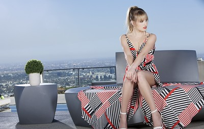 Scarlett Sage in Patio from Penthouse