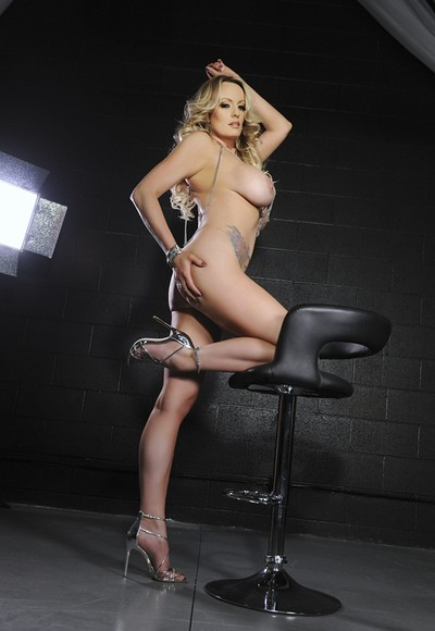 Stormy Daniels in Intimate Interrogation from Penthouse