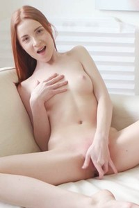 Amazing babe Redly shows off her stunning body great ass and nice pussy in Redhead Beauty