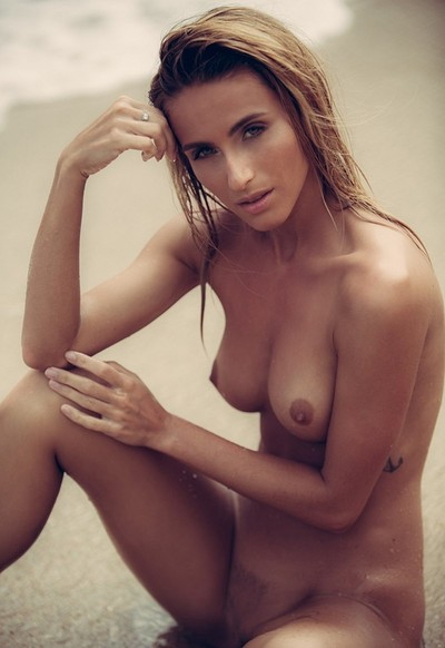 Cara Mell in Sand And Surf from Playboy