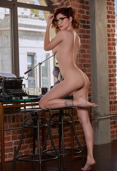 Skye Blue in Finishing Touch from Playboy