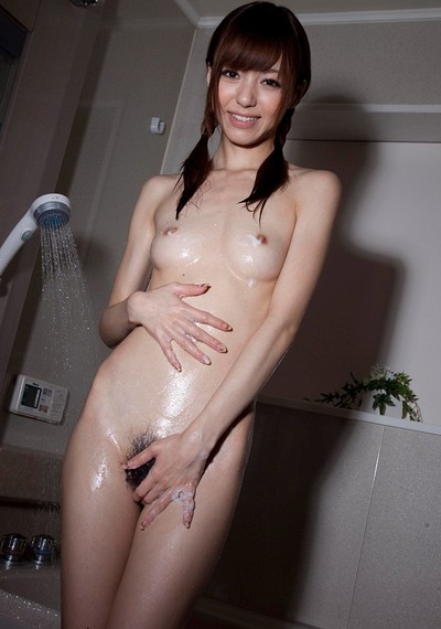 Hoshi Ai in Washing After Playtime from All Gravure