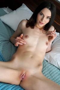 Bloomed nubiles model Adel Morel delights us in Pretty Little Titties