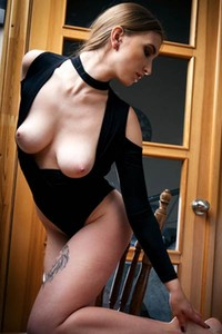 Yes Hannah A is totally naked and horny and yes she needs a man