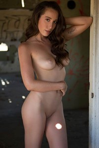 All natural brunette Willa Prescott lets us see her amazing body like she is addicted or something