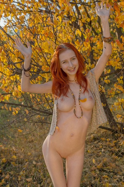 Olivia I in Golden Autumn from Erotic Beauty