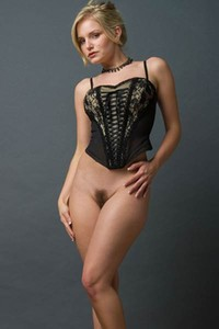 No one is better in sensual posing and undressing than this super sexy blonde