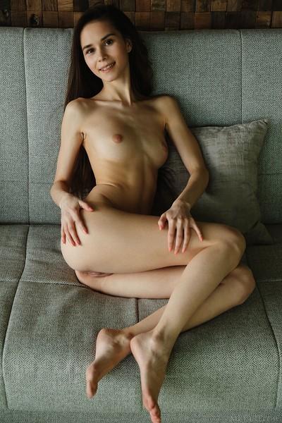 Leona Mia in Deroa from Met Art