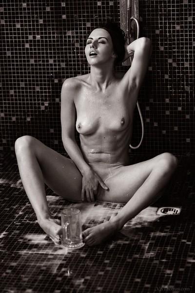 Veronica Snezna in Milk from Viv Thomas