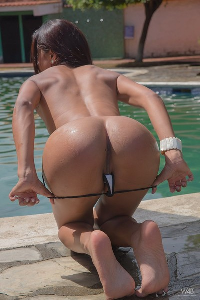 Penellope in Relaxing By The Pool from Watch 4 Beauty