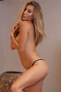 Top class young blonde presents us her body like she is addicted