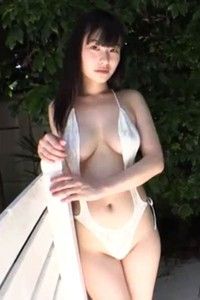 Adorable and playful all gravure model Goda Yuna naked in Arukas Scene 2