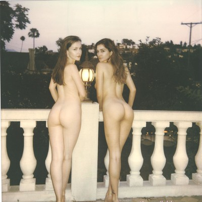 Emily Bloom and Skye Blue in Polaroids from The Emily Bloom