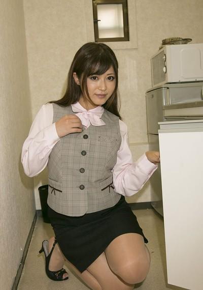 Sato Haruki in Conservative Sato from All Gravure