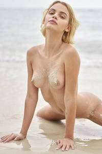 Naughty blonde Ariel simply adores to get on her secret beach and enjoy the sunshine in nude