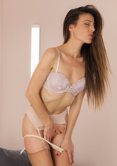 Lorena G in Stockings Collection 2  from Fitting Room