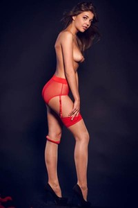 Perfect all natural brunette Monika Dee will make you horny easily with her amazing posing skills