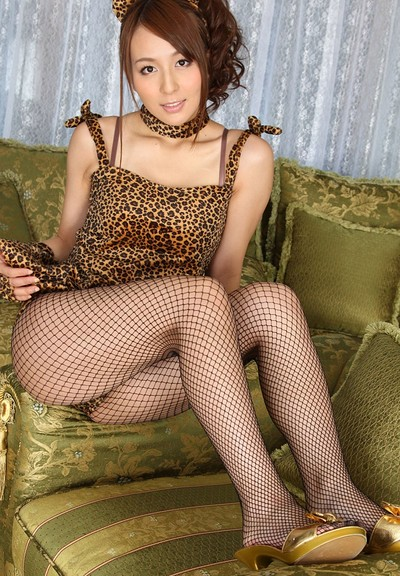 Yasakazaki Jessica in Leopard Love from All Gravure