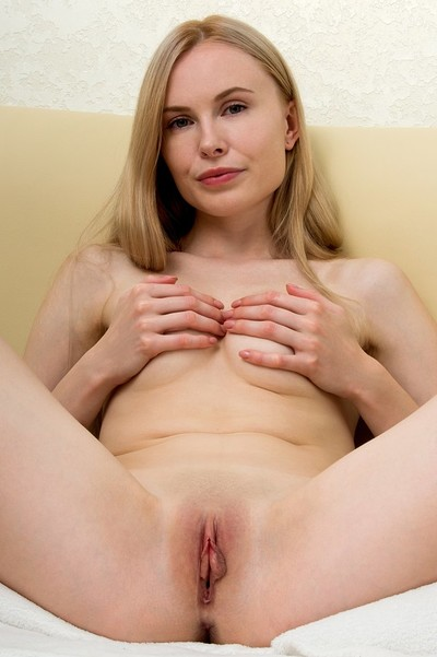 Maria Rubio in Blonde Beauty from Nubiles