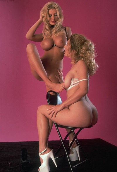 Brittany Andrews and Goldie in Busty and horny from Digital Desire