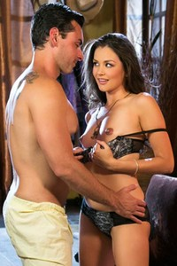 Romantic and effortlessly beautiful penthouse girl Allie Haze naughty