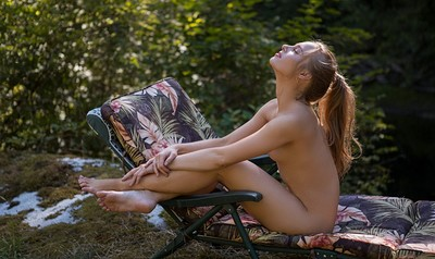 Maija Riika in Back to Nature from Playboy