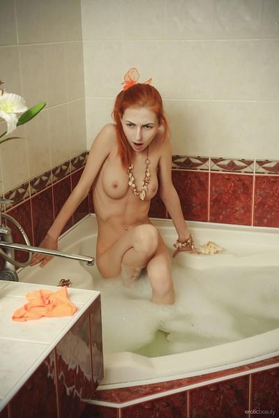 Olivia I in Bathroom Play from Erotic Beauty