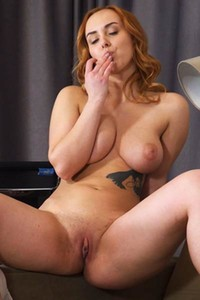 Blossoming young nubile model Kayly Redbird exposed in All Natural Tits