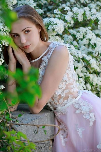 Elle Tan in Fantasy Bride from Met Art