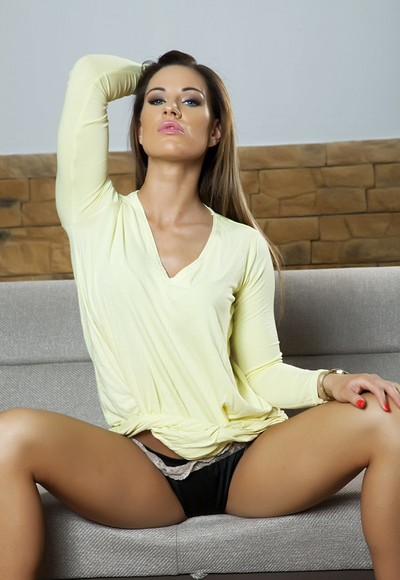 Tyra Moon in The Receptionist from Penthouse