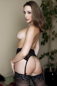 Daring and youthful damsel Chanel Preston erotically poses in The Final Kiss