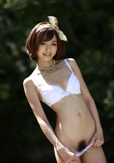 Harei Ai in At The Pond from All Gravure