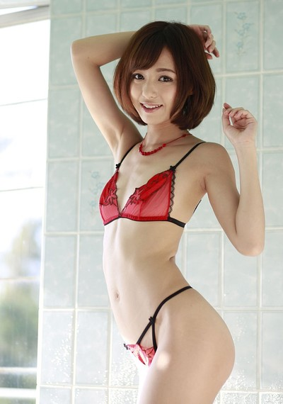 Harei Ai in Innocent Cherry from All Gravure