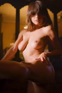 Short haired bomb with stunning skinny body and nice natural boobs will make you horny