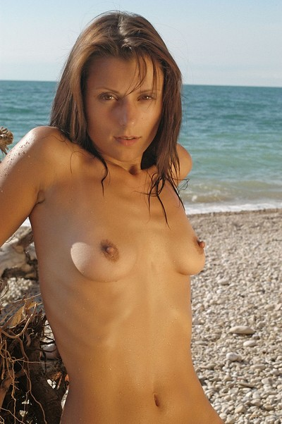 Irena C in On The Beach from Erotic Beauty