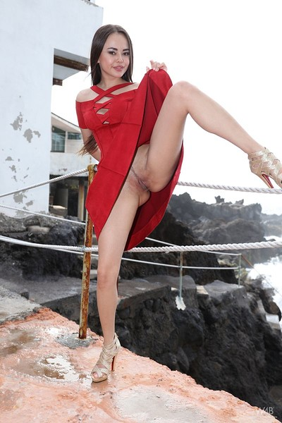 Li Moon in Girl In Red from Watch 4 Beauty