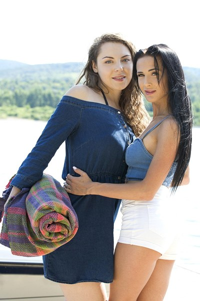 Nicole Love and Sofia Curly in Lakeside Love from Viv Thomas