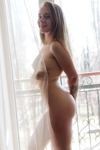 Innocent looking doll Villxo needs a man to come and please her here on the floor